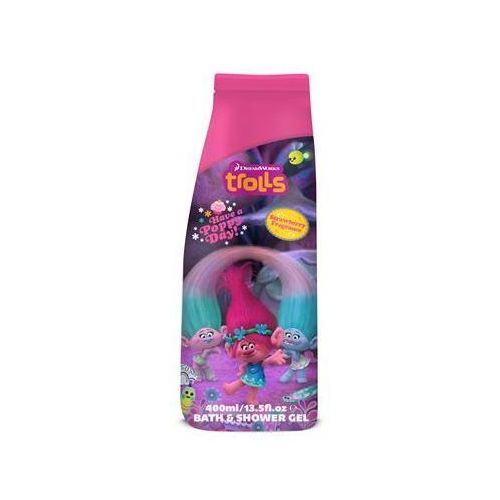 Trolls Bath & Shower Gel żel pod prysznic i płyn do kąpieli Raspberry 400ml (5013692234665)