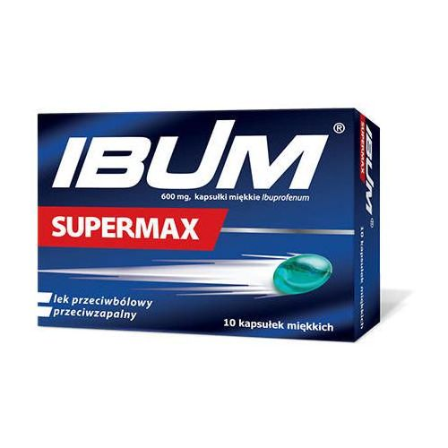 IBUM Supermax 0,6g x 10 kapsułek
