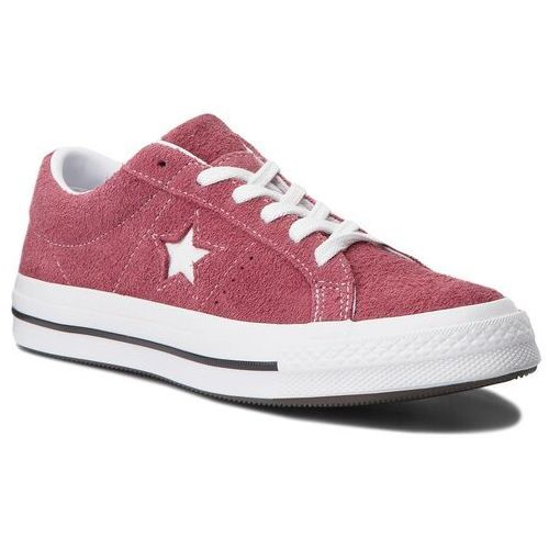 Converse Tenisówki - one star ox 158370c deep bordeaux/white/white