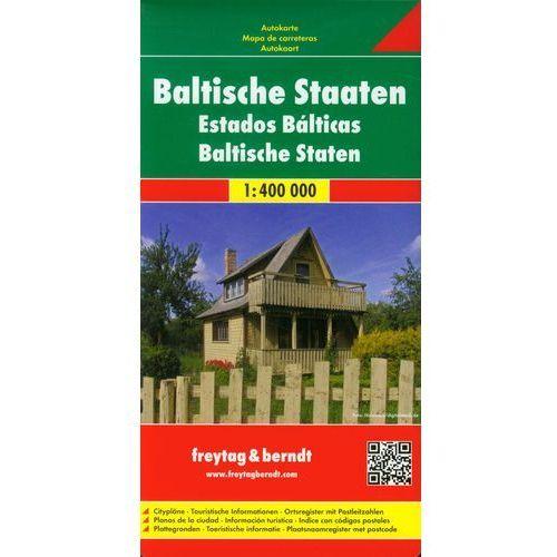 Kraje Bałtyckie Mapa Drogowa 1:400 000 (9783707905670)