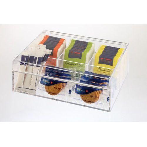 Pudełko ekspozycyjne na herbatę 220x170x90 mm, przeźroczyste | , 11563 marki Aps