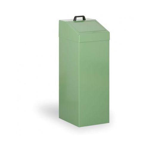 Kosze metalowe na odpady segregowane, 100 l, zielony marki B2b partner