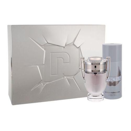invictus zestaw edt 100ml + 150ml deodorant dla mężczyzn marki Paco rabanne
