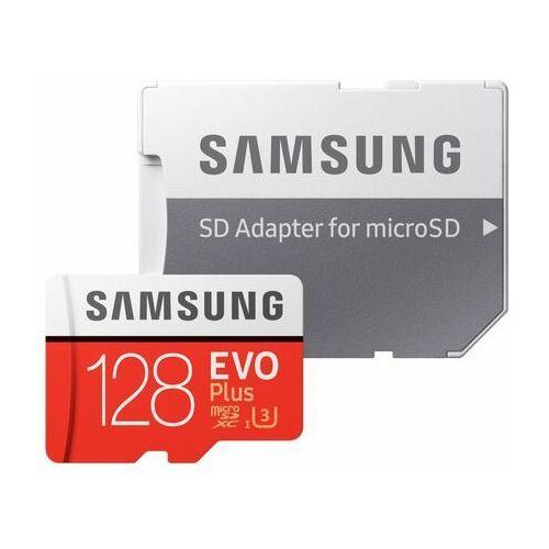Karta pamięci SAMSUNG EVO Plus 128GB MicroSD MB-MC128HA/EU + adapter, 1_731663