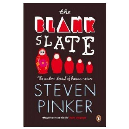 The Blank Slate: The Modern Denial of Human Nature, Steven Pinker