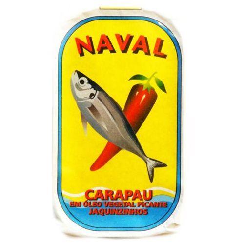"""Portugalskie ostroboki """"jaquinzinhos"""" w oleju roślinnym pikantne naval 125g marki Nero"""