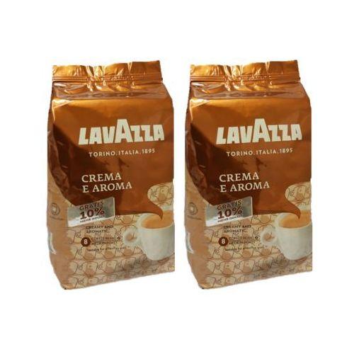 Lavazza Zestaw 2x crema e aroma 1kg +10% gratis kawa ziarnista edycja limitowana