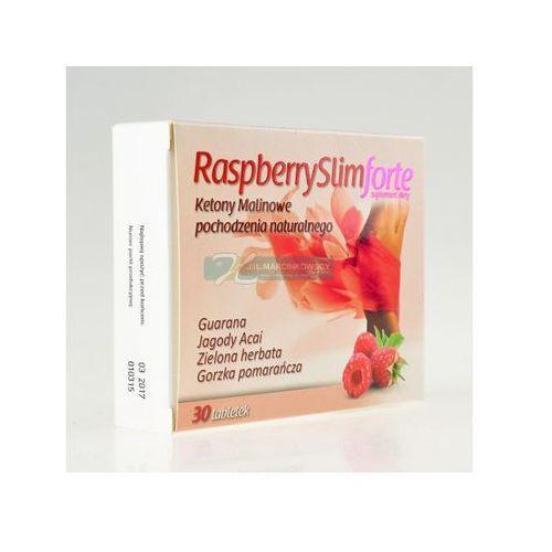 Raspberryslim Forte 30 tabletek z kategorii Tabletki na odchudzanie