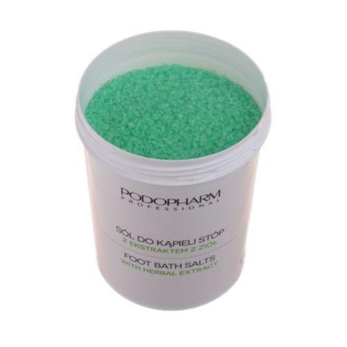 Podopharm foot bath salts with herbal extract sól do kąpieli stóp z ekstraktem z ziół