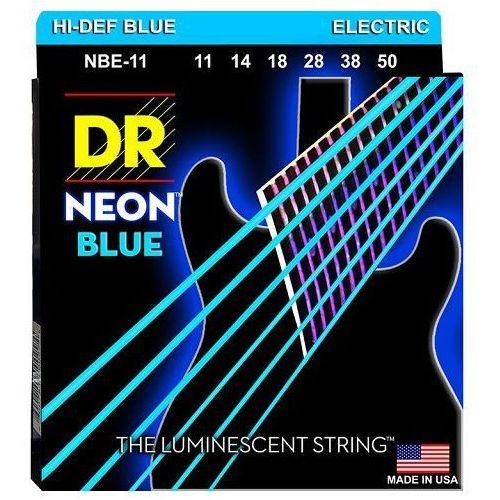 nbe 11 neon struny do gitary elektrycznej 11-50 marki Dr
