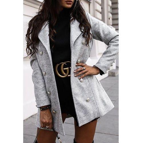Płaszcz damski BERGANA GREY, w 4 rozmiarach