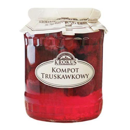 193krokus Kompot truskawkowy truskawki 640g - krokus