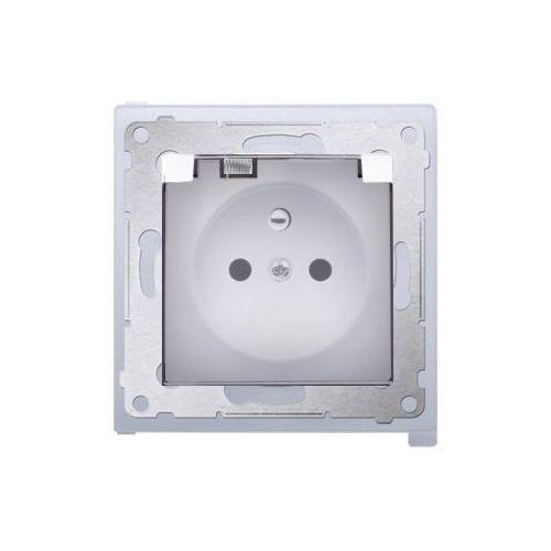 Kontakt-simon Gniazdo pojedyncze hermetyczne ip44 białe dgz1bz.01/11a kontakt simon54 rabaty