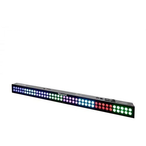 LCB803 LED belka oświetleniowa bar 80x3W LED tryb DMX/stand-alone 120W czarna
