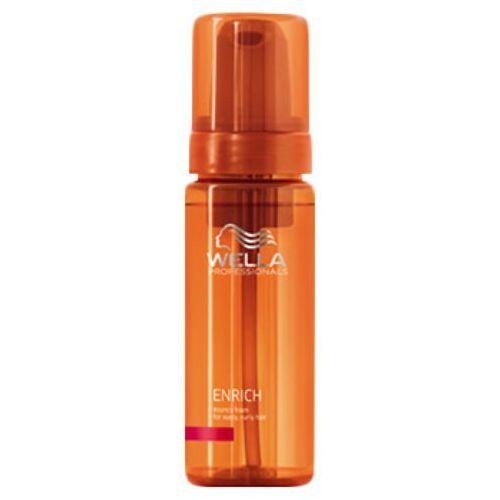 Wella enrich bouncy foam for wavy, curly hair pianka do włosów kręconych marki Wella professionals