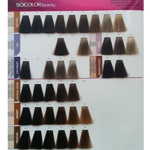 Matrix Socolor Beauty pielęgnująca farba do włosów odcień 4N (Medium Brown Neutral) 90 ml, kolor brąz