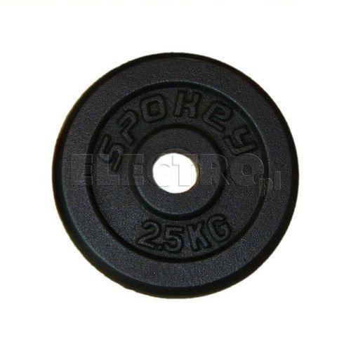 Obciążenie żeliwne SPOKEY Sinis 2.5 kg 84421 + Odbiór w 650 punktach Stacji z paczką! (gryf, sztanga) od ELECTRO.pl
