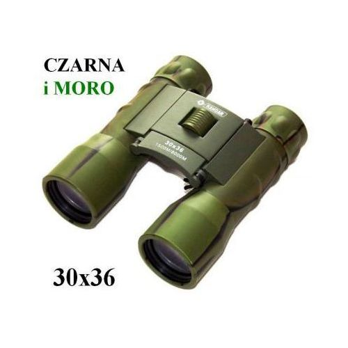 Oryginalna Kompaktowa Lornetka KANDAR 30x36 (w 2 kolorach do wyboru) + Pokrowiec i Akcesoria., 59030862211