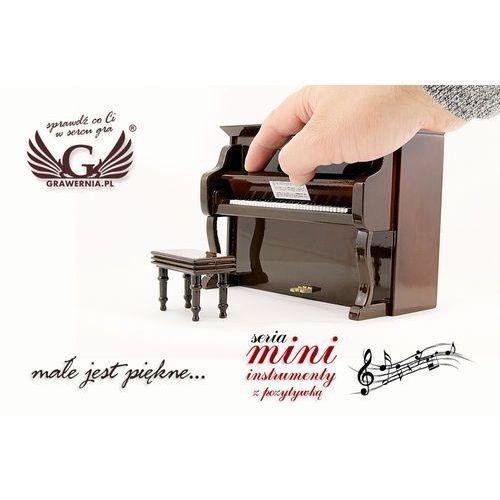 Grawernia.pl - grawerowanie i wycinanie laserem Mini pianino z pozytywką - model mpi1