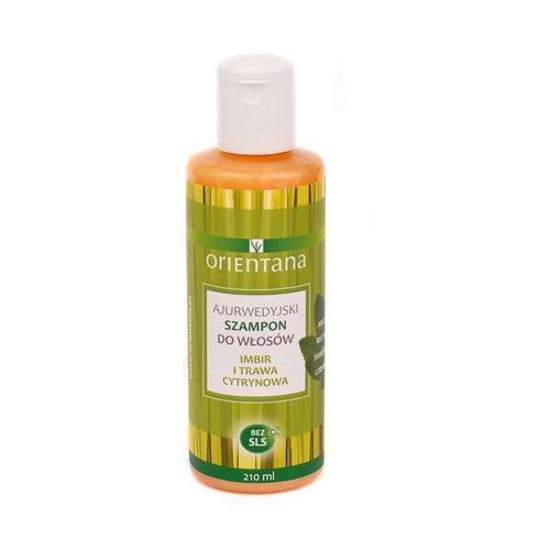 Orientana - Ajurwedyjski szampon IMBIR I TRAWA CYTRYNOWA (5902596416621)