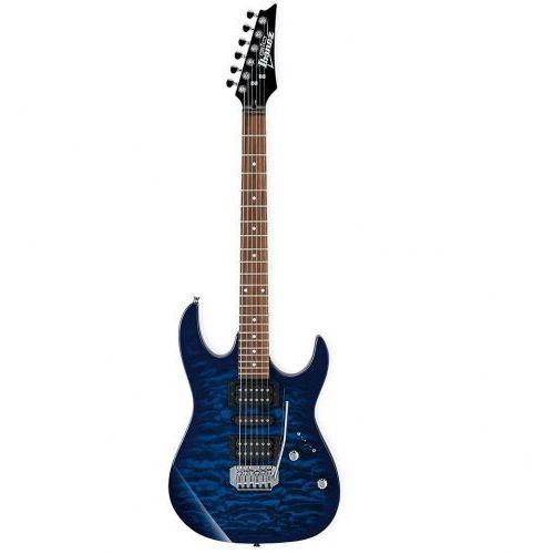 grx 70 qal tbb transparent blue burst gitara elektryczna, leworęczna marki Ibanez
