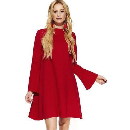 7ce7b28e61 Makadamia sukienka damska 40 czerwona 209