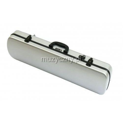 Winter / jw-eastman ce 125 4/4 s fiberglass - futerał na skrzypce, włókno szklane, srebrny