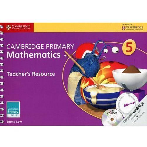 Cambridge Primary Mathematics Stage 5 Teacher's Resource With Cd-rom (9781107658547)