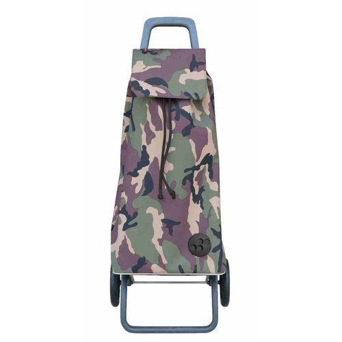 Wózek zakupowy Rolser RG Mountain Camouflage khaki (wózek na zakupy)