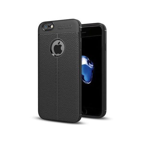 Alogy Etui pancerne leather case tpu apple iphone 7 / 8 czarne