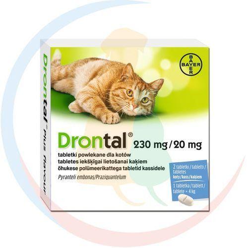 Bayer Drontal tabletki odrobaczające dla kota: opakowanie - 2 sztuki
