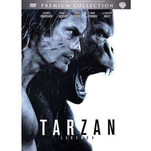 David yates Tarzan: legenda premium collection (dvd) - od 24,99zł darmowa dostawa kiosk ruchu (7321912343577)