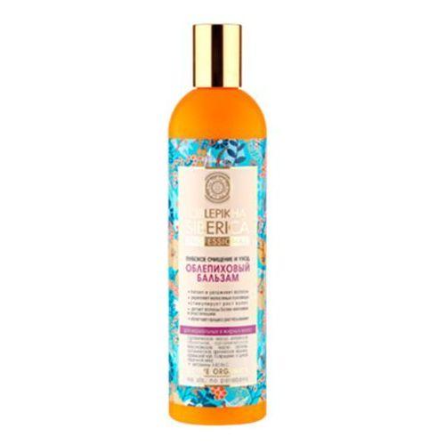 Natura Siberica Professional - balsam rokitnikowy do włosów normalnych i tłustych - głębokie oczyszczenie i regeneracja - kostrzewa ałtajska, olej arganowy, kocimiętka syberyjska, jarzębina, dąb, malina, olej z rokitnika ałtajskiego ze sklepu Kosmetyki Naturalne Maya