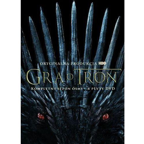 GRA O TRON, SEZON 8 (4 DVD) (Płyta DVD)