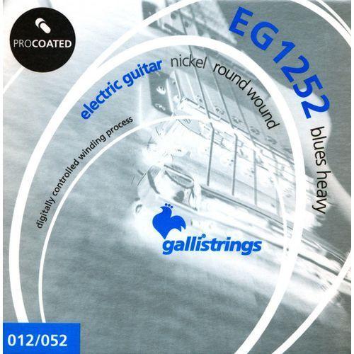 Galli EG1252 struny do gitary elektrycznej 12-52