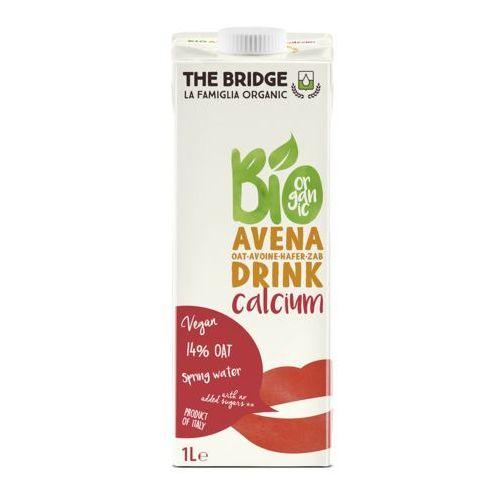 Napój mleko owsiane z wapniem 1l - the bridge - eko hit! marki 121the bridge