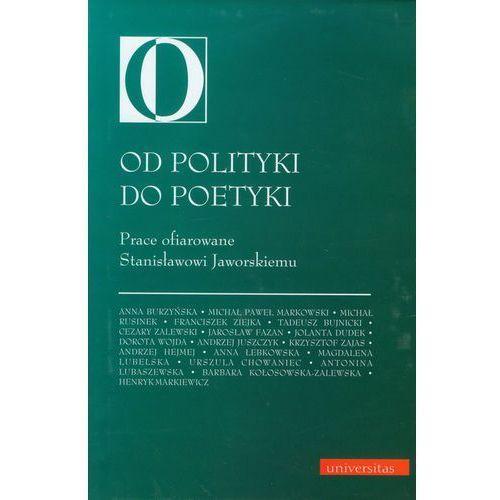 Od polityki do poetyki - Cezary Zalewski (9788324212248)