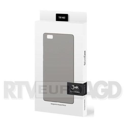3mk Natural Case Huawei P8 Lite (czarny), kolor czarny