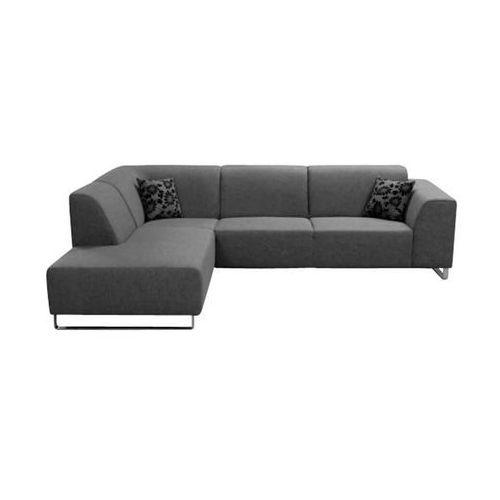 Szara Sofa narożna tapicerowana Face - oferta [5548d1a10f4326be]