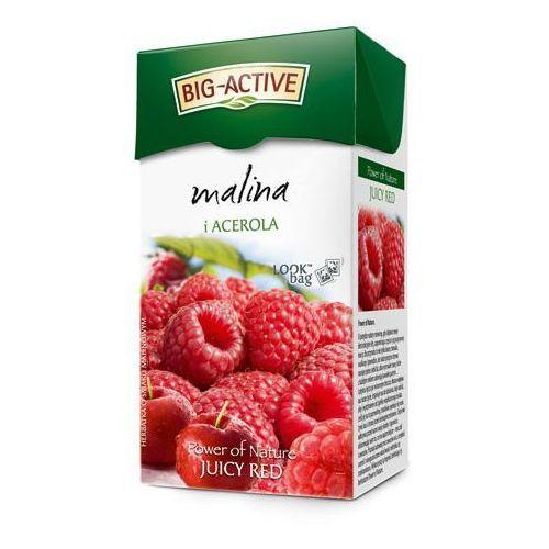 20x2,25g malina i acerola herbata (20 saszetek) marki Big-active