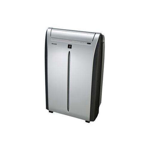 Sharp Klimatyzator przenośny cvp 10pr - plasma cluster na ok. 20-25m2 - super cichy + gratis
