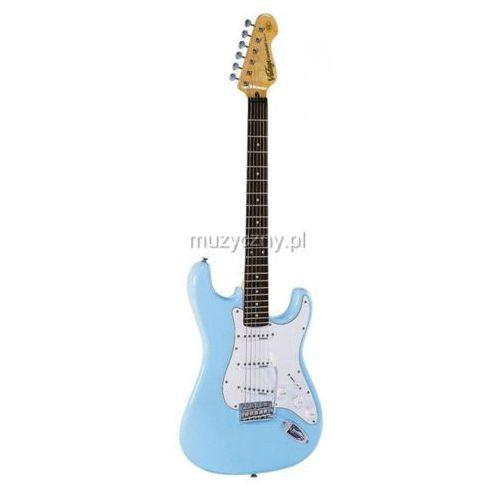Vintage V6LB gitara elektryczna Laguna Blue