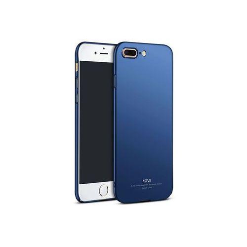 Etui simple ultracienkie iphone 8 plus niebieskie marki Msvii