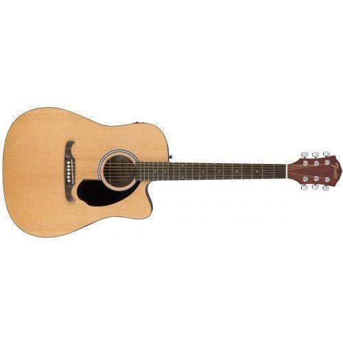 fa-125ce dreadnought natural rw gitara elektroakustyczna marki Fender