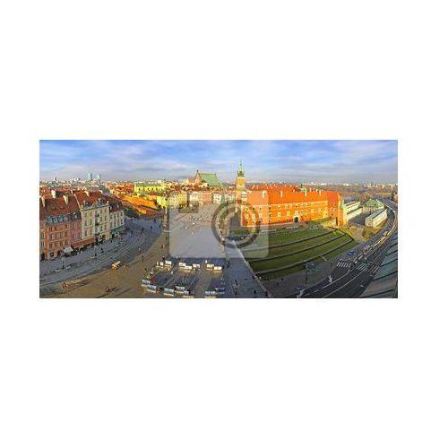 Fototapeta Panoramiczny widok na Rynek Starego Miasta (Plac Zamkowy) w Warszawie, Redro z REDRO
