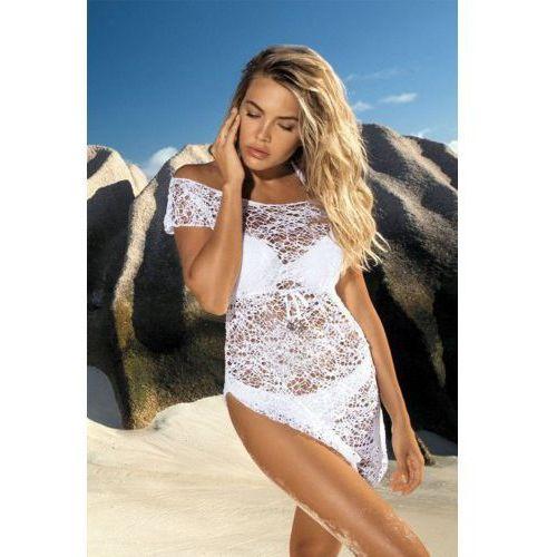 Sukienka plażowa d-12 biała, Etna