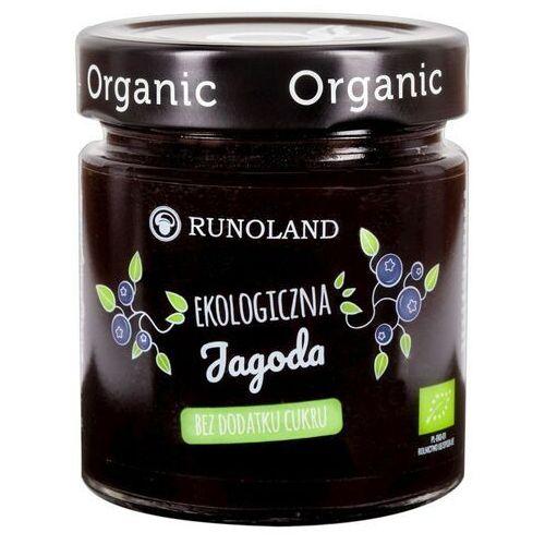 Runoland Dżem z jagody leśnej bez cukru bio 200g -
