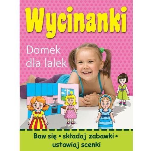 Wycinanki domek dla lalek  marki Wojciech górski