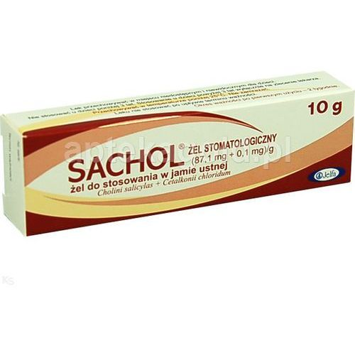 Sachol żel stomatologiczny 10g wyprodukowany przez Jelfa s.a. p.f.