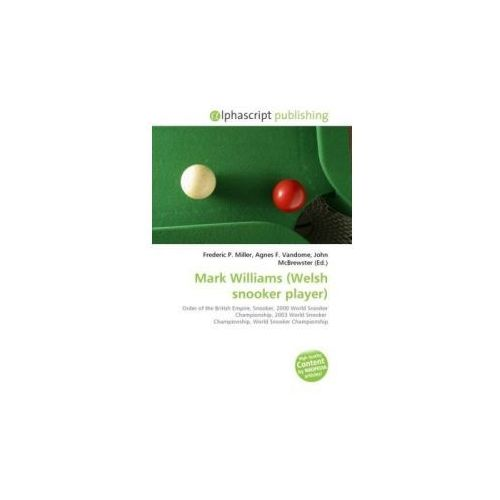 Mark Williams (Welsh snooker player) (9786130867720)